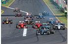 Formel 1 - Saison 2015 - GP Australien 2015 - Start