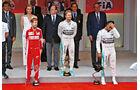 Formel 1 - Saison 2015 - GP Monaco 2015 - Podest