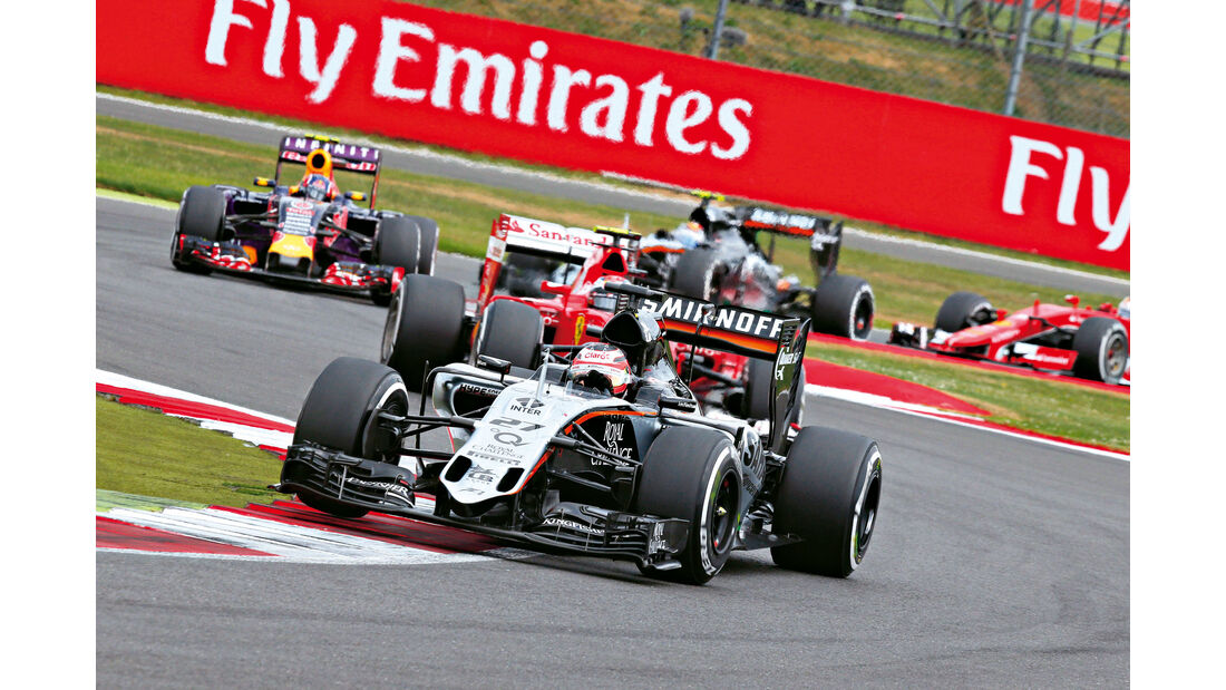 Formel 1 - Saison 2015 - Nico Hülkenberg - Force India - GP England 2015