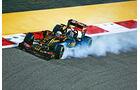 Formel 1 - Saison 2015 - Pastor Maldonado - Lotus - GP Bahrain 2015