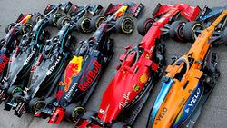 Formel 1 - Saison 2020 - Autos