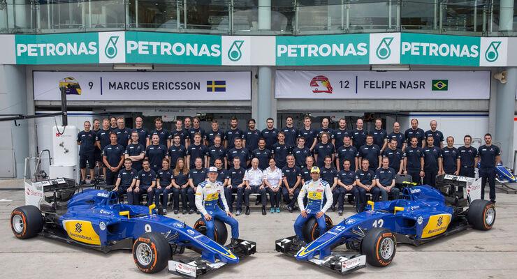 Formel 1 - Sauber - GP Malaysia 2015