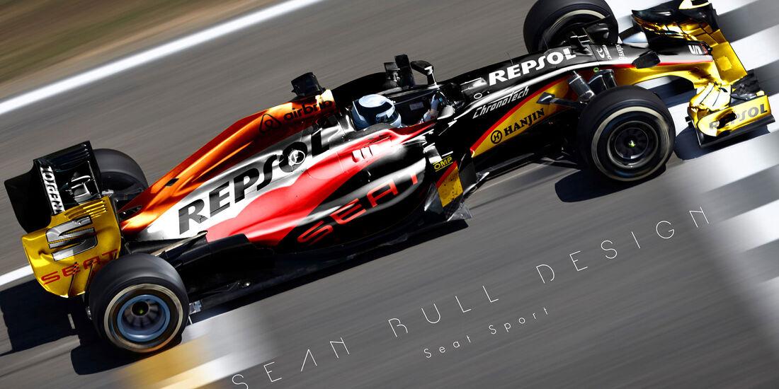 Formel 1 - Seat - Fantasie-Teams - Sean Bull Design