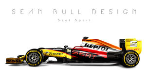 Formel 1 - Seat - Fantasie-Teams - Sean Bull Design