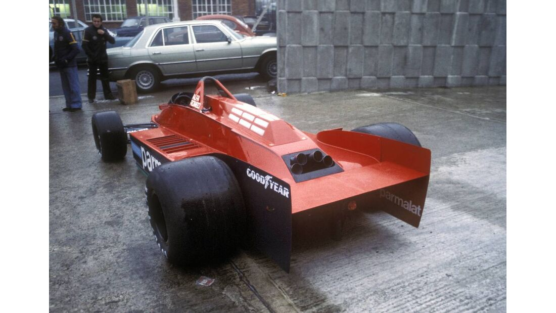 Formel 1 Skurril 1979 Brabham Alfa