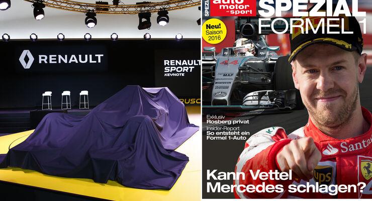 Formel 1 Sonderheft 2016 - Teaser