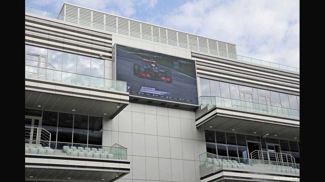 Formel 1-Strecke Sochi - GP Russland 2014