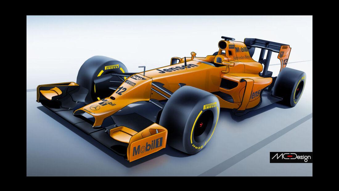 Formel 1 - Studie - McLaren 2014