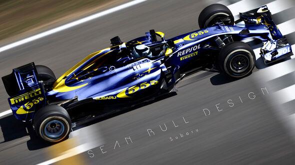Formel 1 - Subaru - Fantasie-Teams - Sean Bull Design