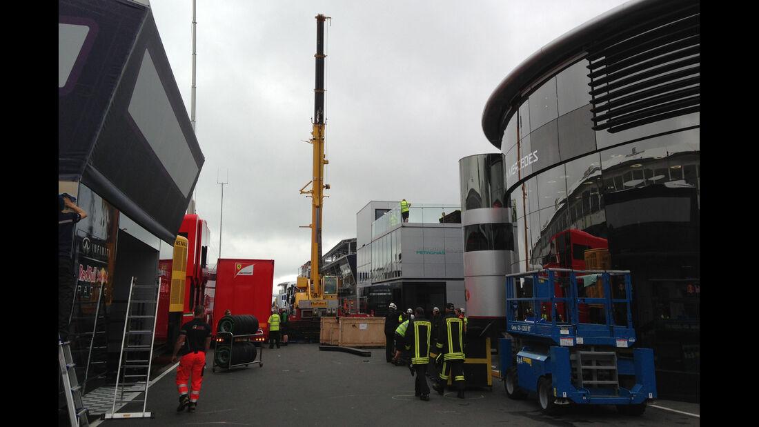 Formel 1-Tagebuch 2013 - GP Deutschland