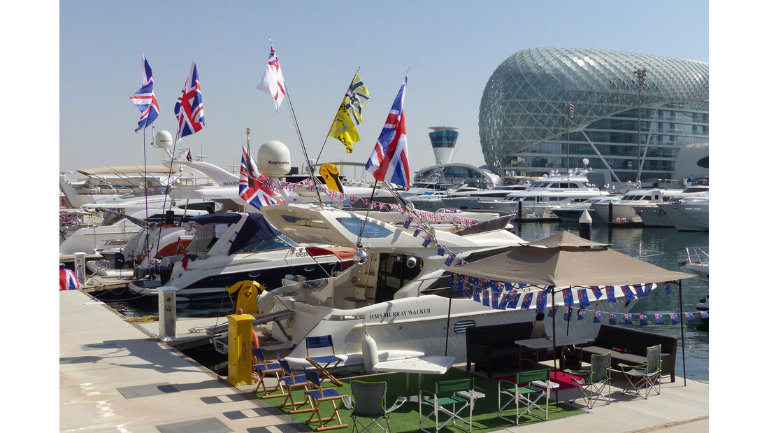 Formel 1-Tagebuch GP Abu Dhabi 2014