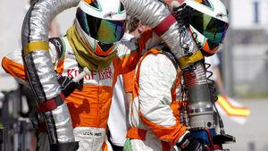 Formel 1-Tankstelle