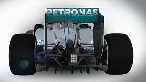 Formel 1 Technik 2014 - Mercedes AMG F1 W05 - Piola Animation