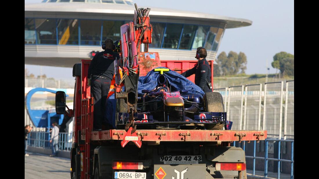 Formel 1 Test 2011 Alguersuari