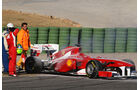 Formel 1 Test 2011 Alonso