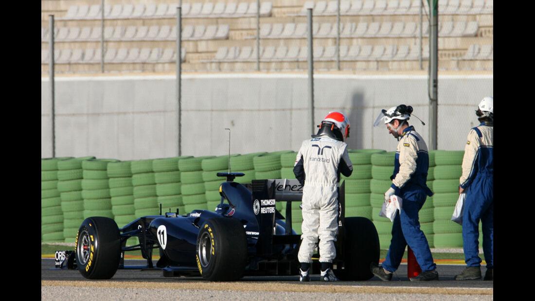 Formel 1 Test 2011 Barrichello