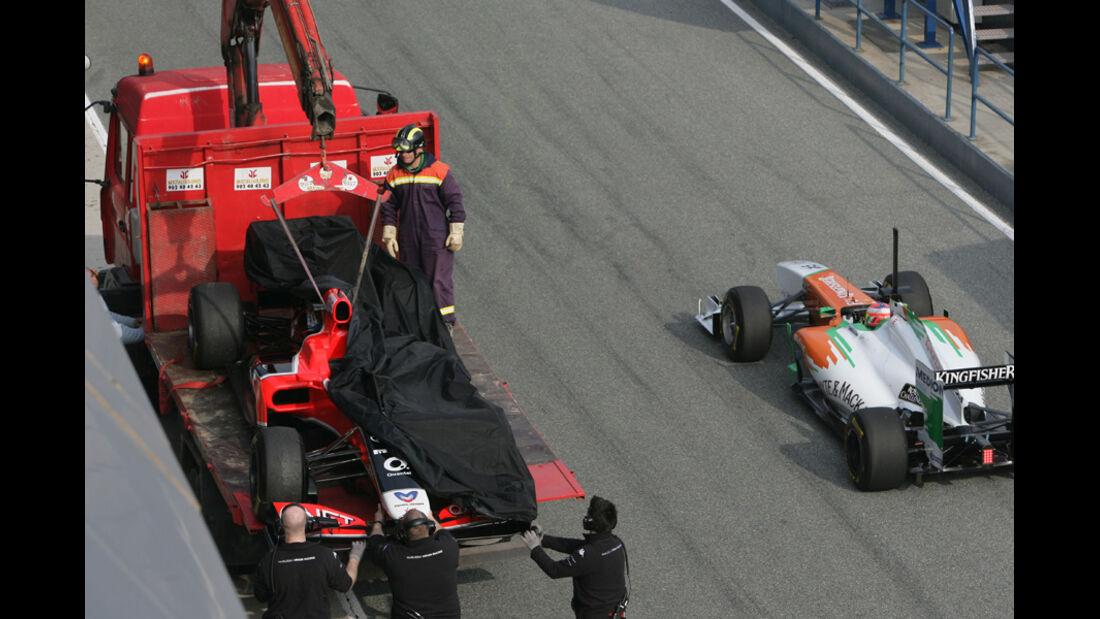 Formel 1 Test 2011 D'Ambrosio