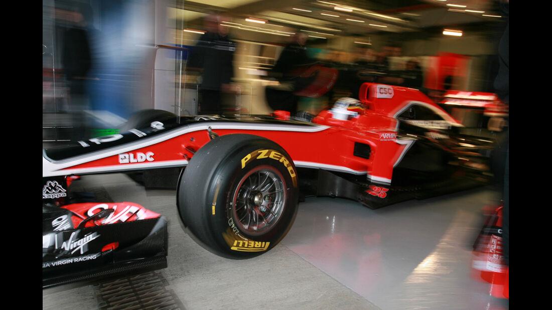 Formel 1 Test 2011 Glock