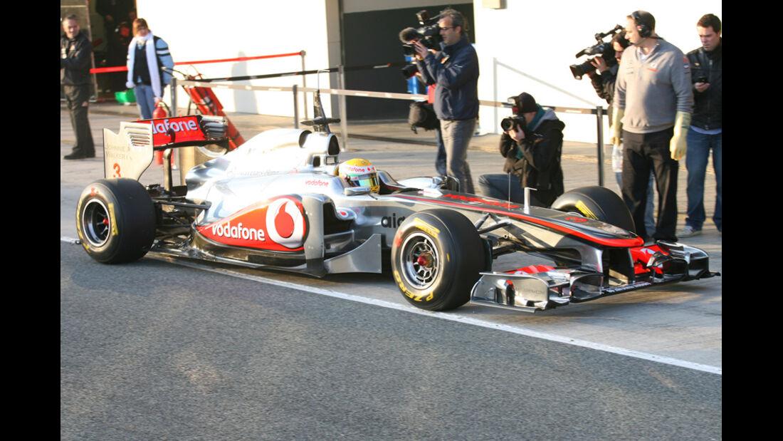 Formel 1 Test 2011 Hamilton