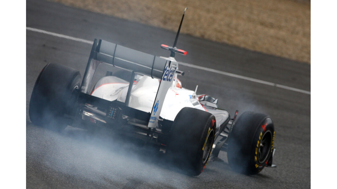 Formel 1 Test 2011 Kobayashi