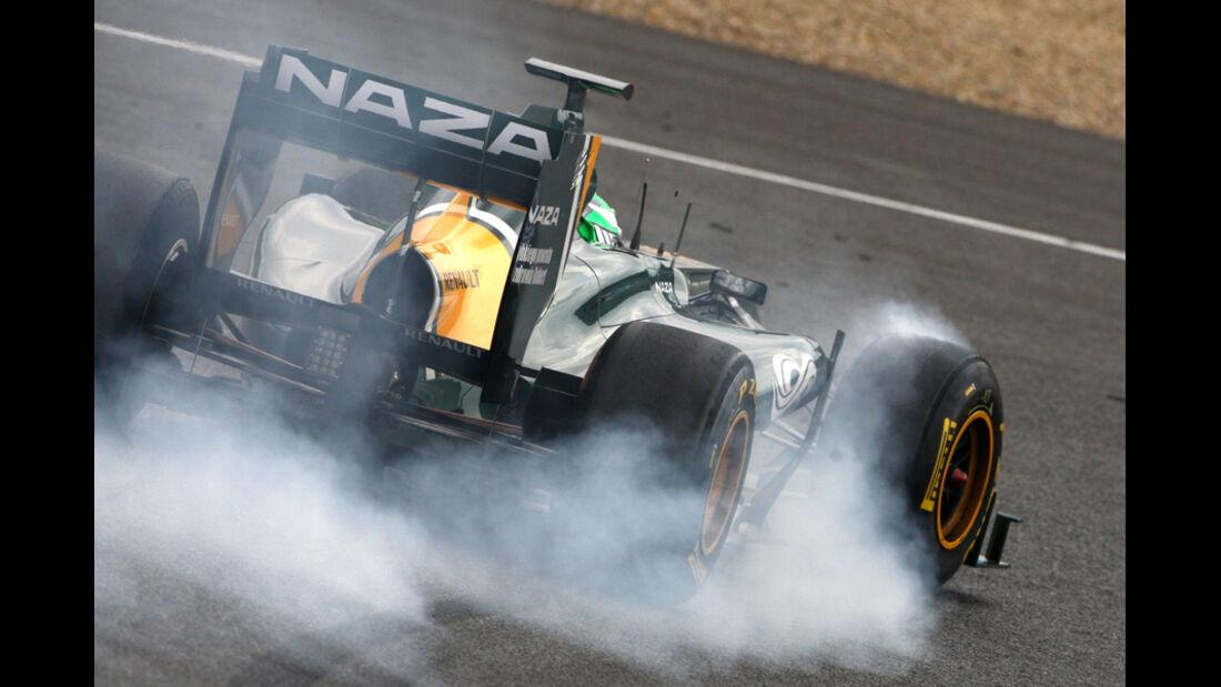 Formel 1 Test 2011 Kovalainen