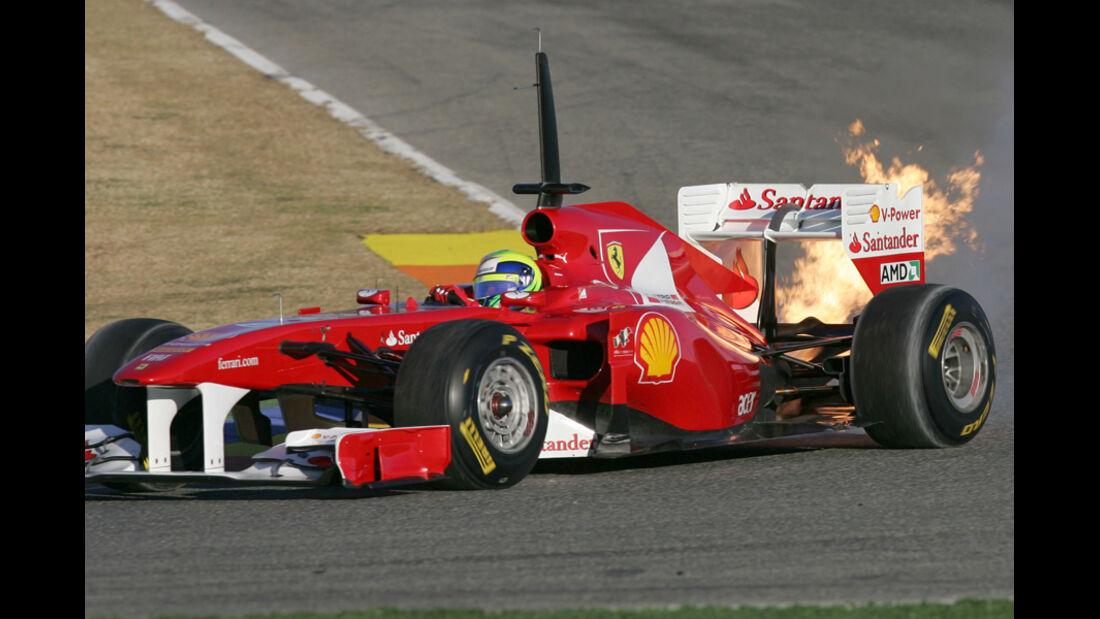 Formel 1 Test 2011 Massa