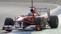 Formel 1 Test 2011 Massa