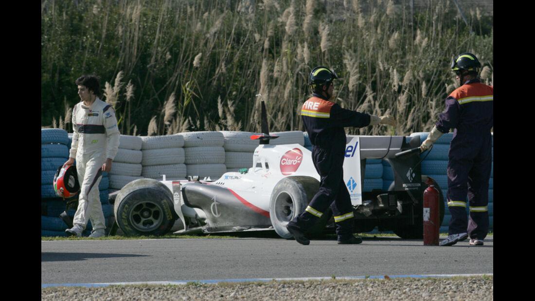 Formel 1 Test 2011 Perez