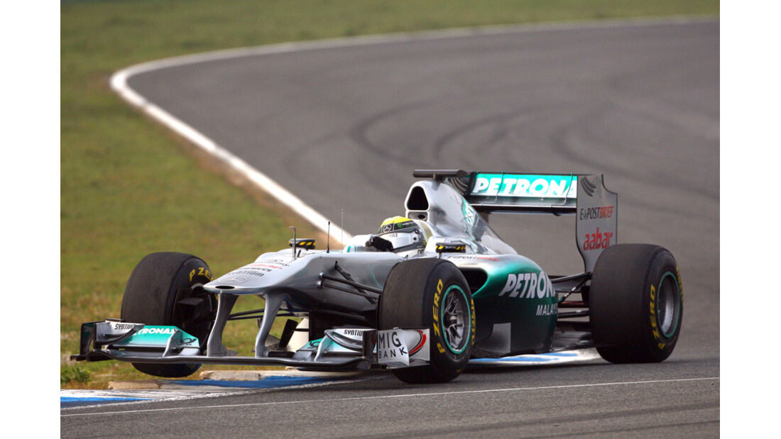 Formel 1 Test 2011 Rosberg