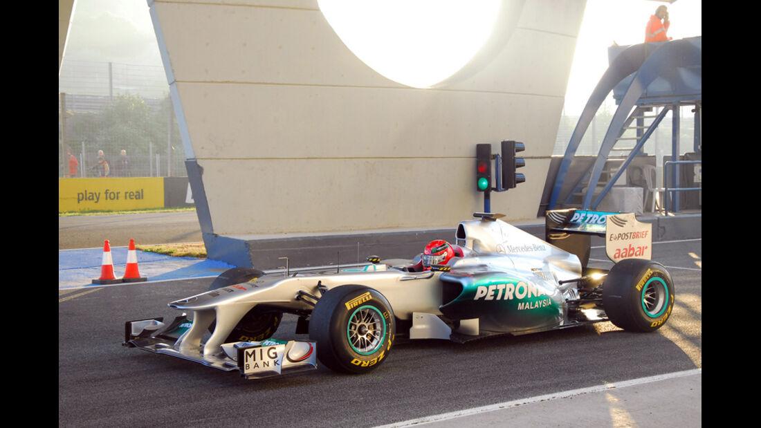 Formel 1 Test 2011 Schumacher