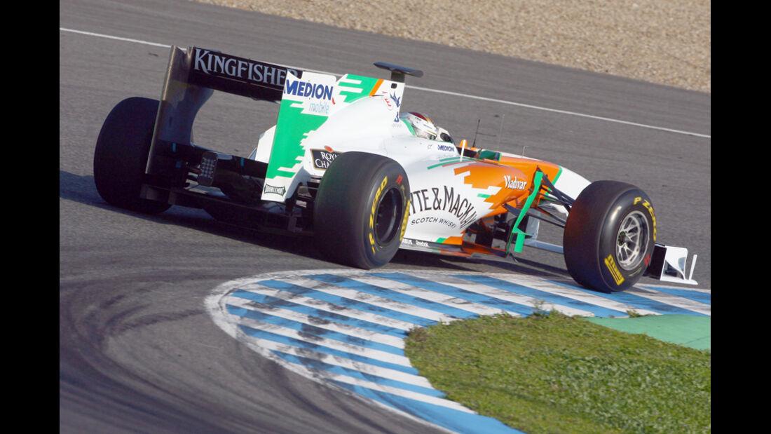 Formel 1 Test 2011 Sutil