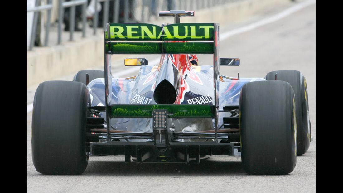 Formel 1 Test 2011 Vettel