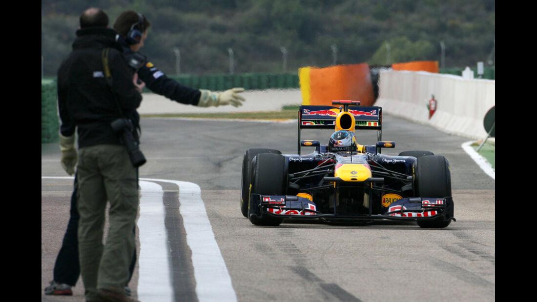 Formel 1 Test 2011 Webber