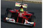Formel 1-Test, Barcelona, 01.03.2012, Felipe Massa, Ferrari