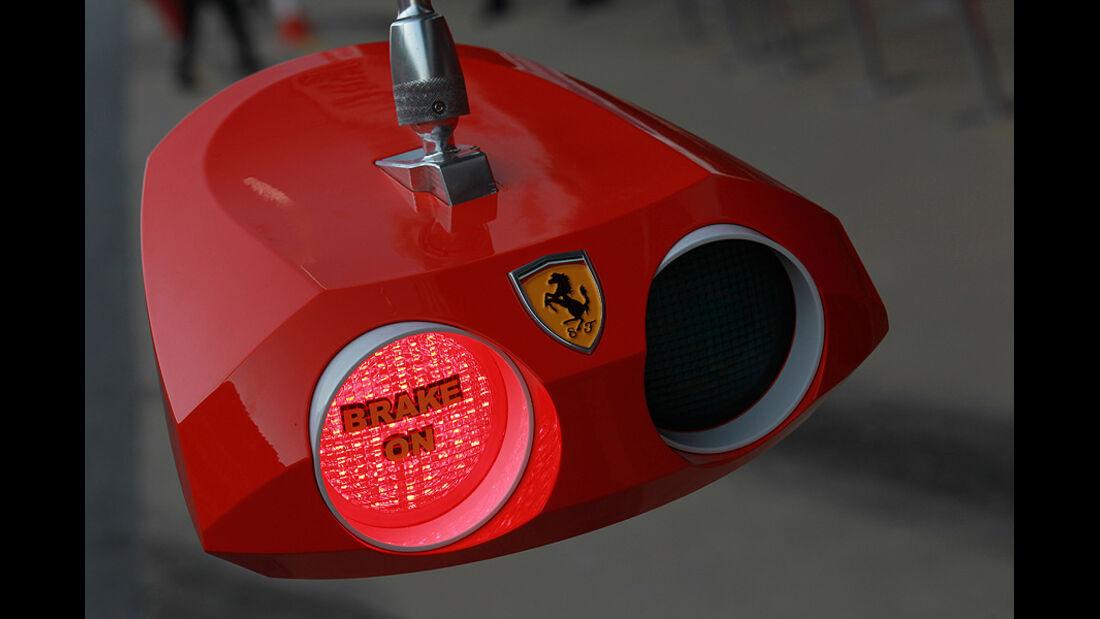 Formel 1-Test, Barcelona, 01.03.2012, Ferrari