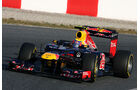 Formel 1-Test, Barcelona, 01.03.2012, Mark Webber, Red Bull