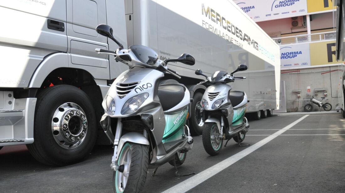 Formel 1-Test, Barcelona, 01.03.2012, Mercedes GP