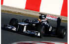 Formel 1-Test, Barcelona, 01.03.2012, Pastor Maldonado, Williams
