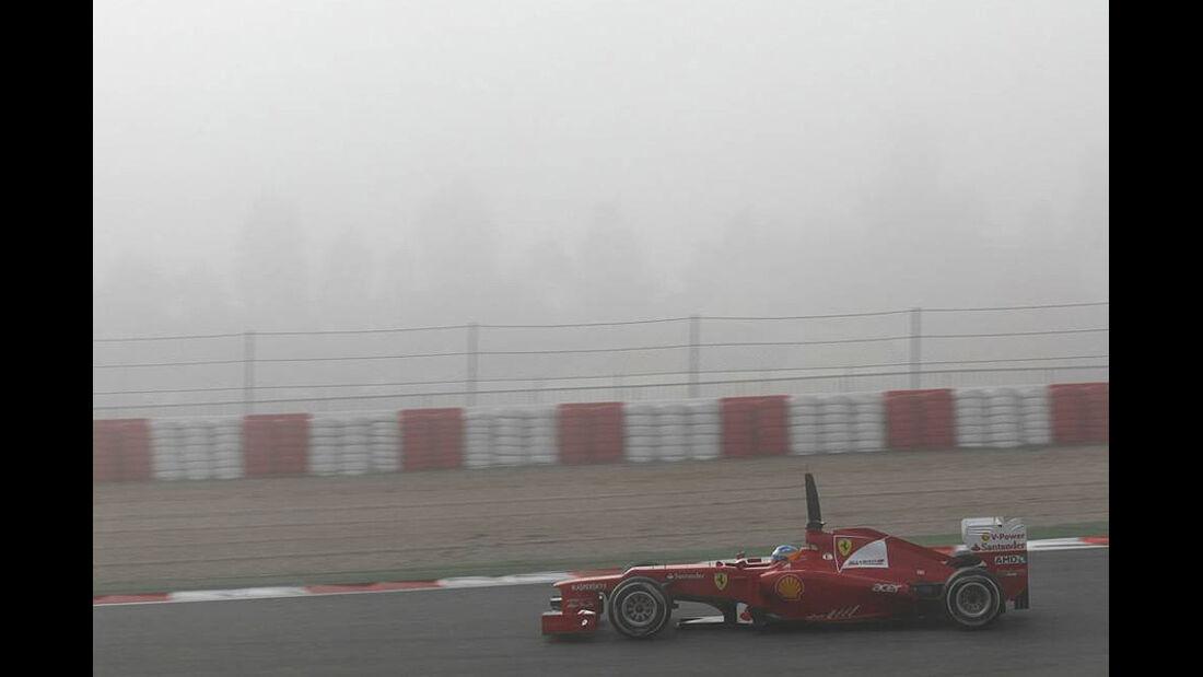 Formel 1-Test, Barcelona, 02.03.2012, Fernando Alonso, Ferrari