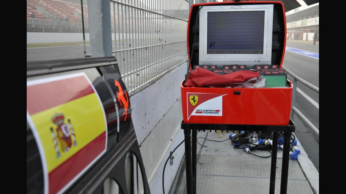 Formel 1-Test, Barcelona, 02.03.2012, Ferrari