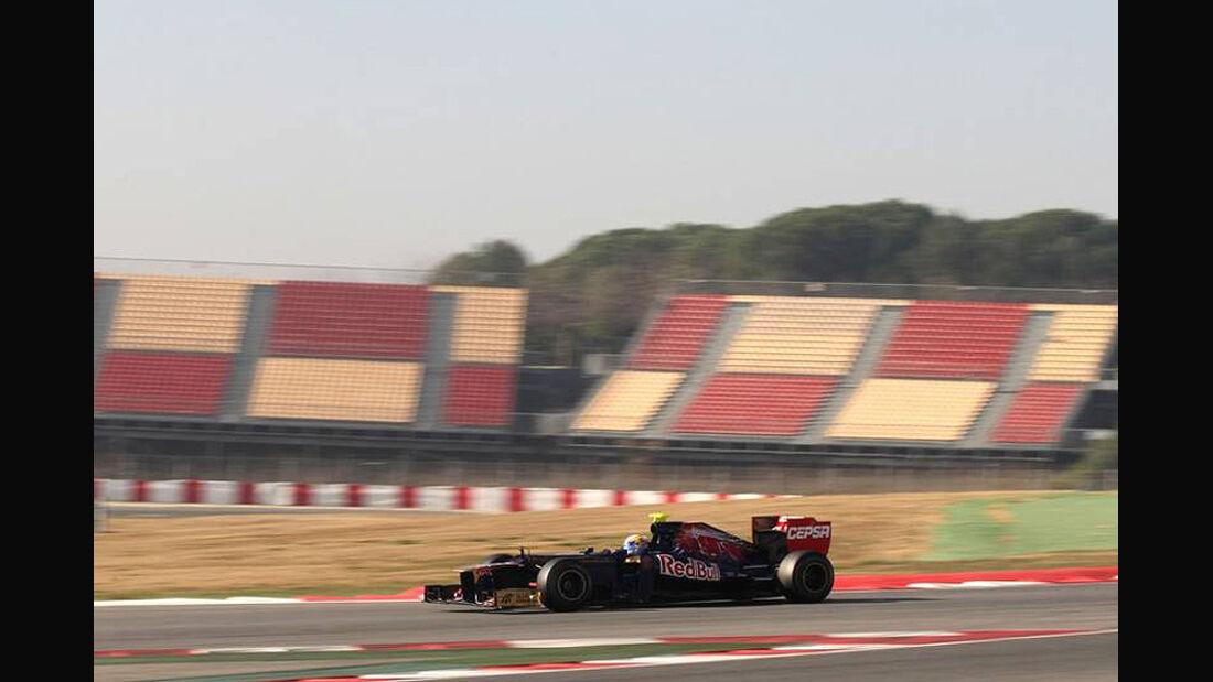 Formel 1-Test, Barcelona, 02.03.2012, Jean-Eric Vergne, Toro Rosso