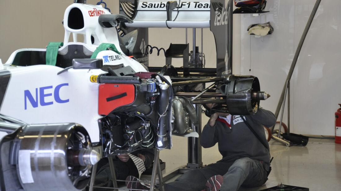 Formel 1-Test, Barcelona, 02.03.2012, Kamui Kobayashi, Sauber