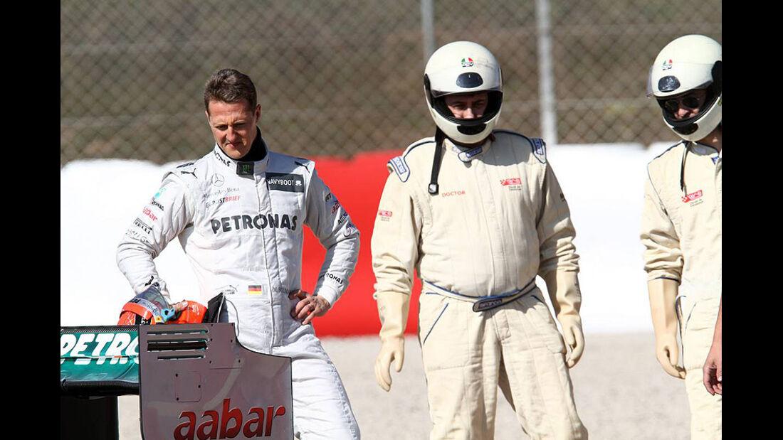 Formel 1-Test, Barcelona, 02.03.2012, Michael Schumacher, Mercedes GP