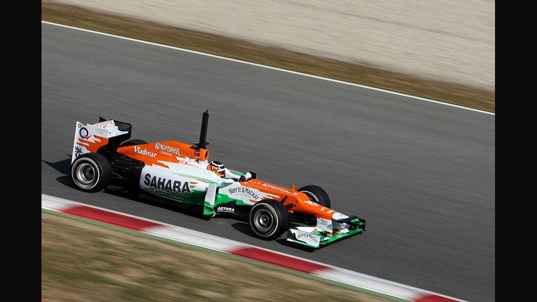 Formel 1-Test, Barcelona, 02.03.2012, Nico Hülkenberg, Force India