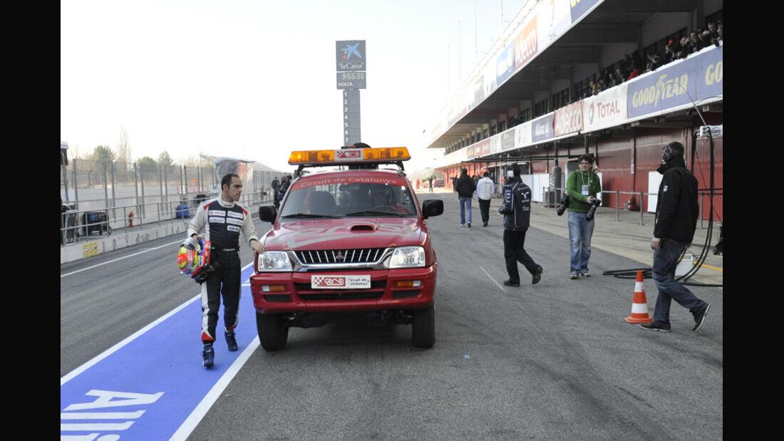 Formel 1-Test, Barcelona, 02.03.2012, Pastor Maldonado, Williams