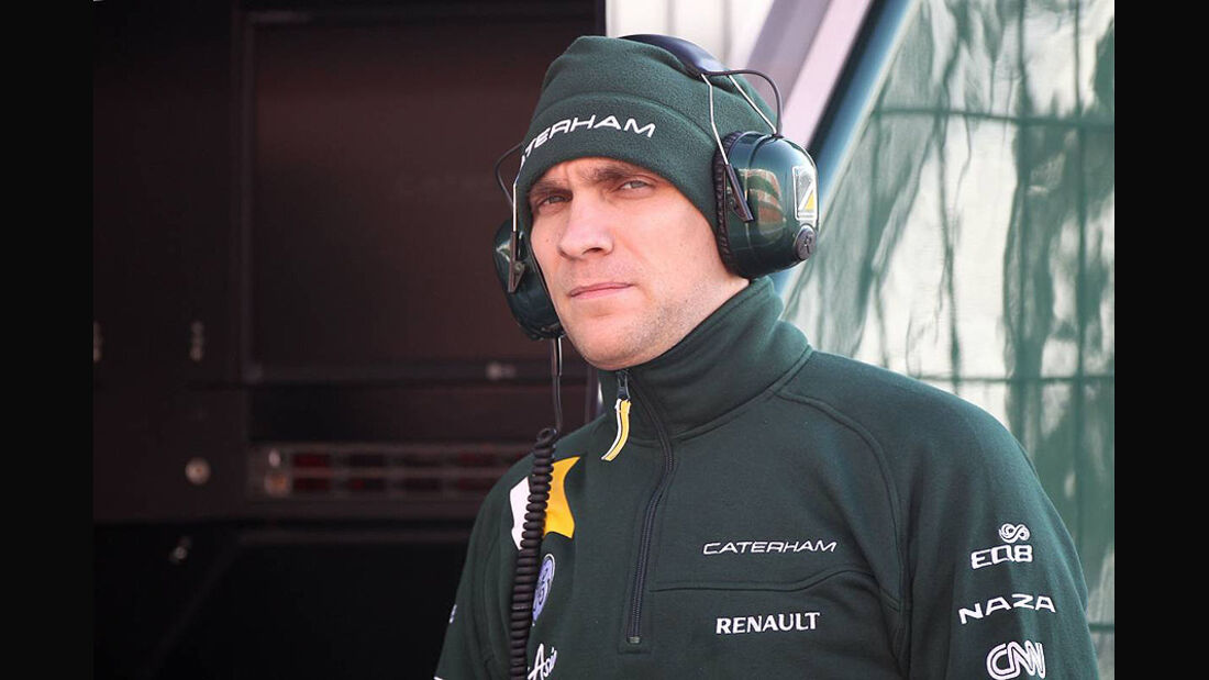 Formel 1-Test, Barcelona, 02.03.2012, Vitaly Petrov, Caterham
