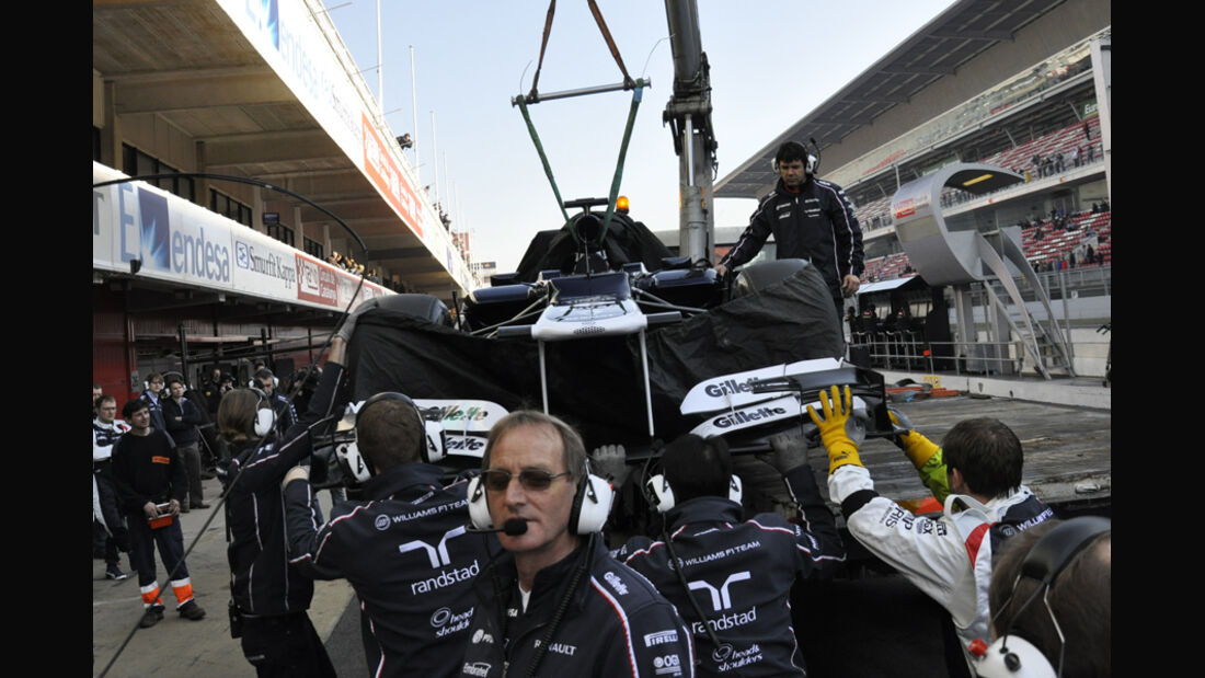 Formel 1-Test, Barcelona, 02.03.2012, Williams