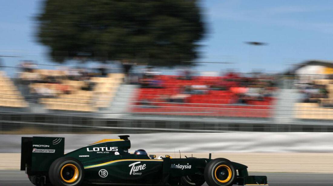 Formel 1 Test Barcelona 2010