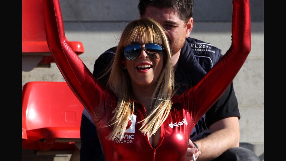 Formel 1 Test Barcelona 2012 Girl