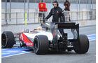 Formel 1-Test, Barcelona, 21.2.2012, Lewis Hamilton, McLaren